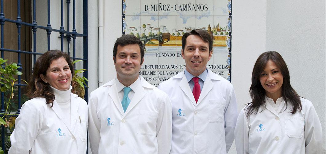 Otorrino en Sevilla, el Dr. Muñoz-Cariñanos y su equipo
