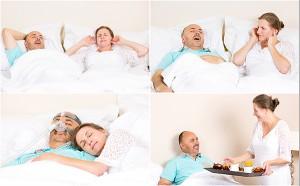 Apnea del sueño, máquina CPAP