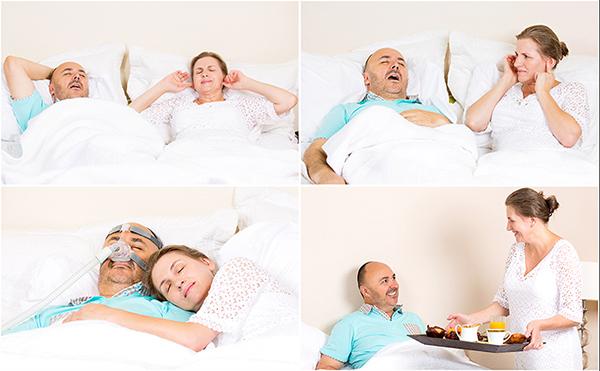 Managment of sleeping apnea