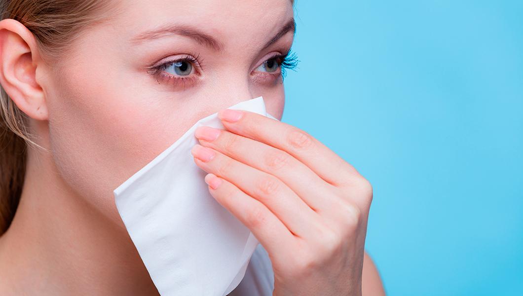 La importancia de limpiar las fosas nasales