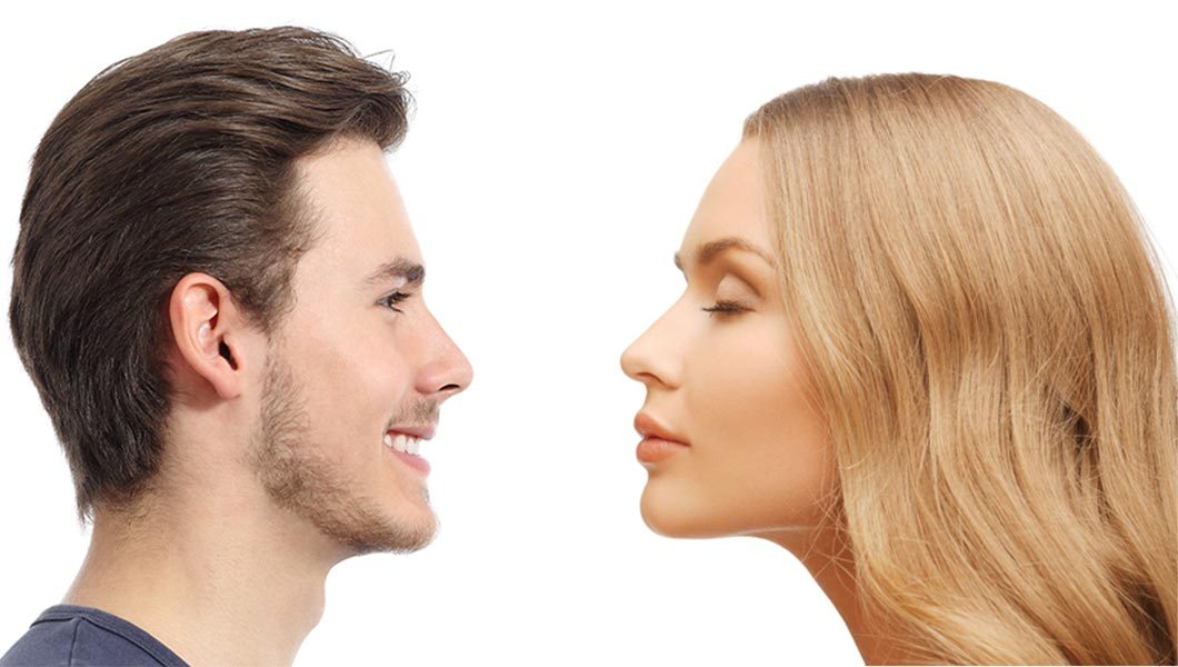 Diferencias entre las rinoplastia de hombres y mujeres