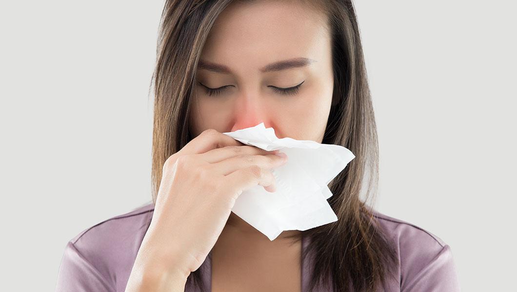 Hábitos para combatir la congestión nasal