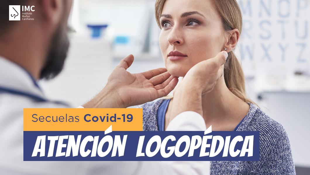 Tratamientos logopedas para secuelas del coronavirus